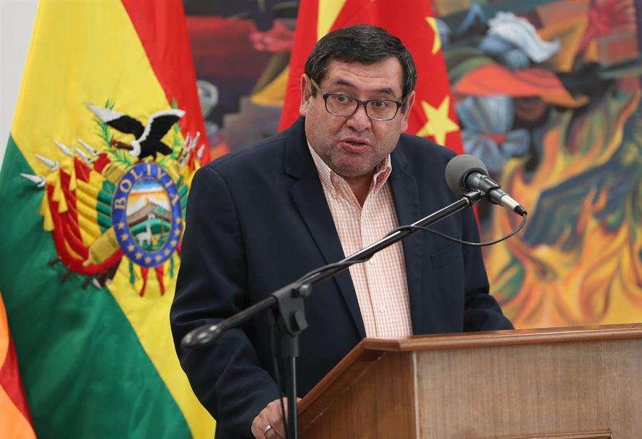 En la imagen, el ministro de Energías de Bolivia, Rafael Alarcón. EFE