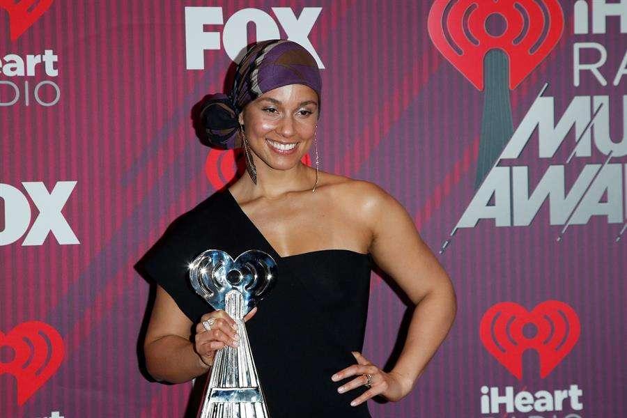 La cantante Alicia Keys. EFE/ Nina Prommer
