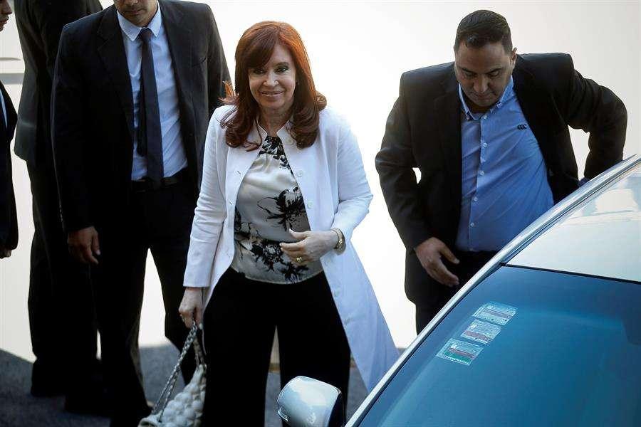 En la imagen la vicepresidenta electa de Argentina, Cristina Fernández de Kirchner. EFE