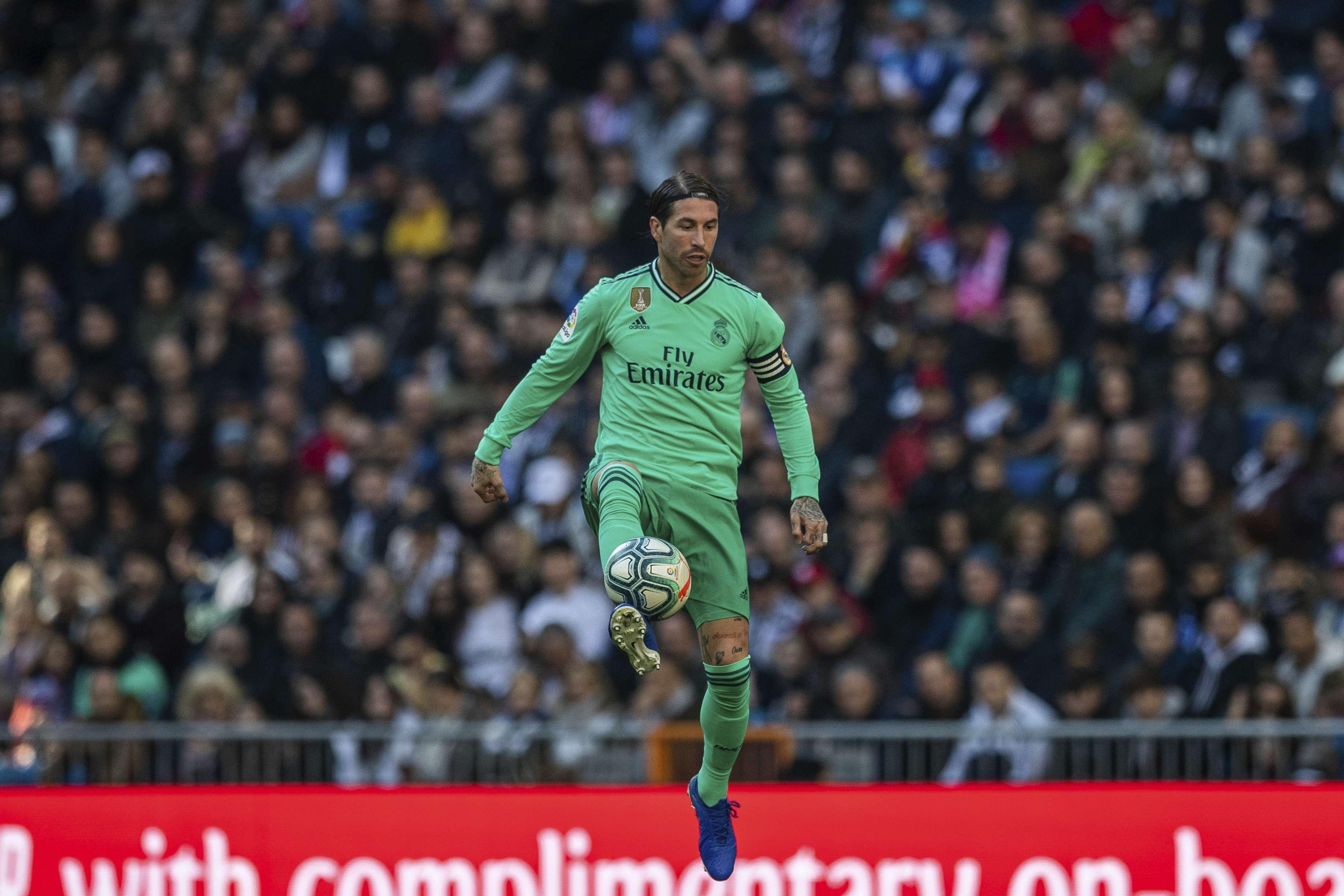 Sergio Ramos, Capitán del Real Madrid. Foto: AP