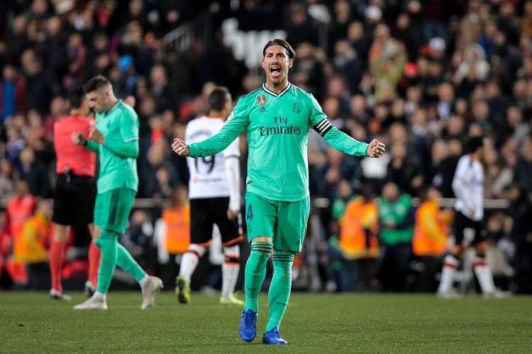 El defensa del Real Madrid Sergio Ramos. Foto: EFE