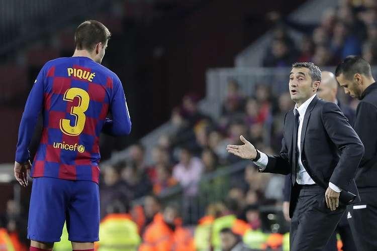 Valverde aseguró que las movilizaciones no afectaron el clásico. Foto: AP
