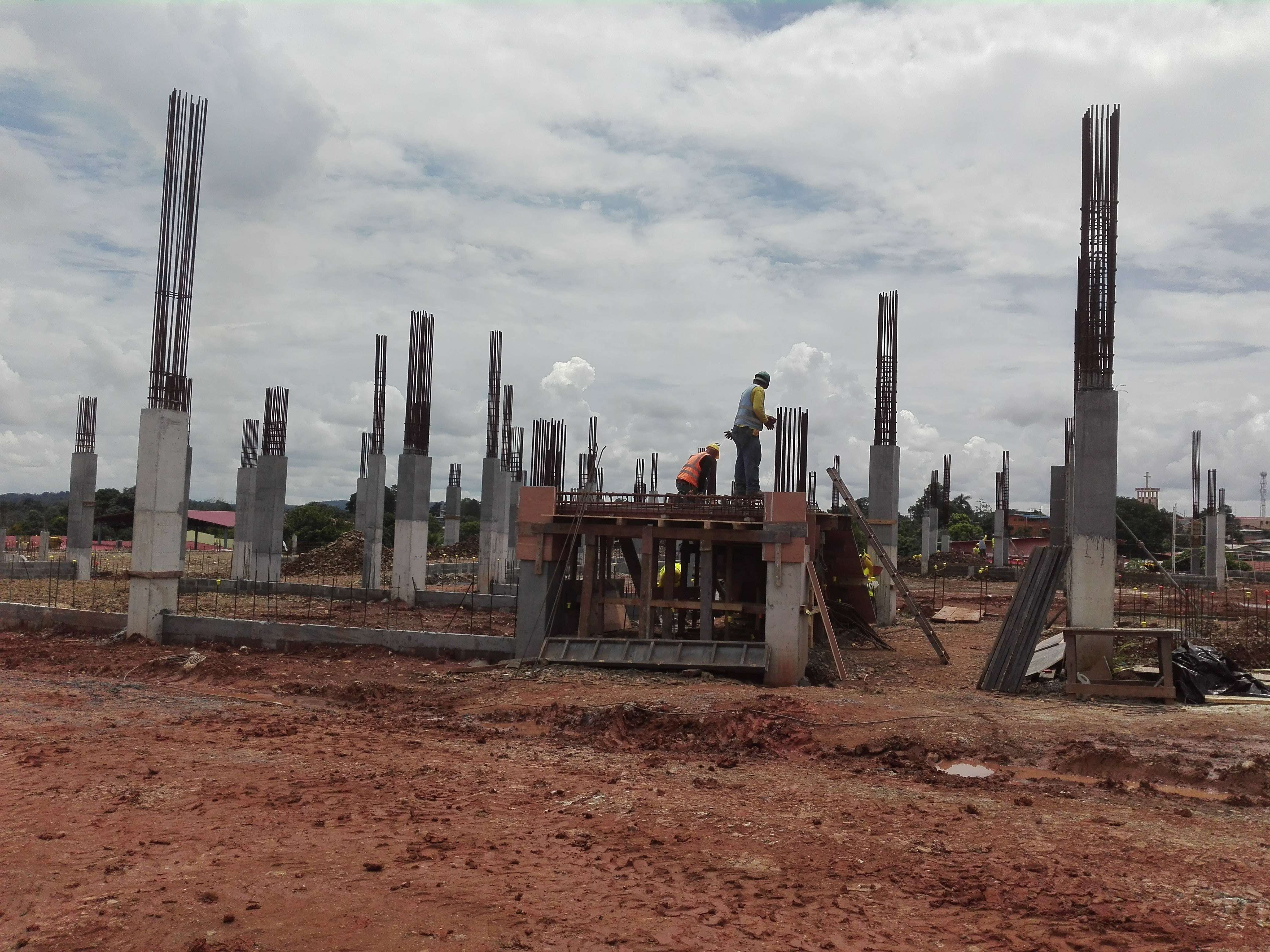 Desde hace varios años, la baja registrada en el sector construcción afecta a estos municipios. Foto: Eric Montenegro