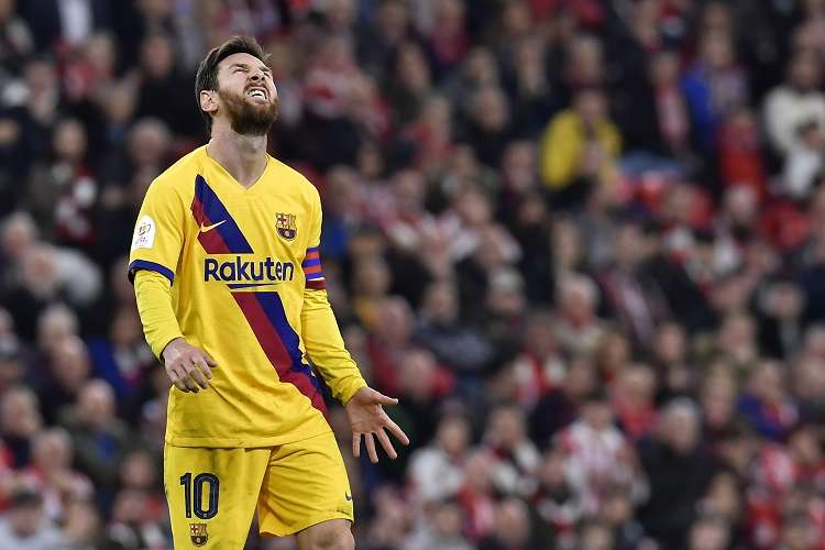 El argentino Leo Messi. Foto: AP