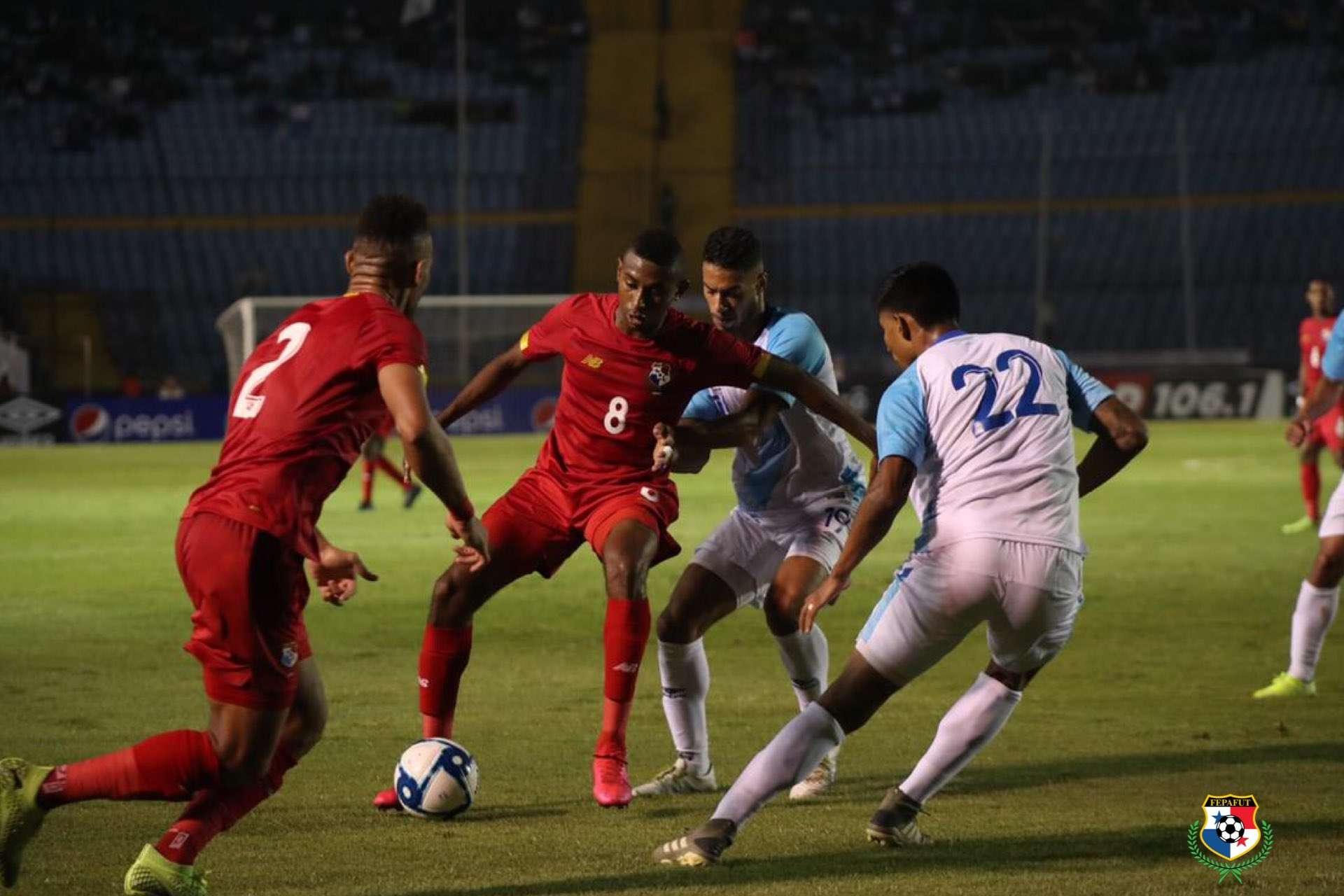 La selección de Panamá viene de vencer a Guatemala. /Fepafut
