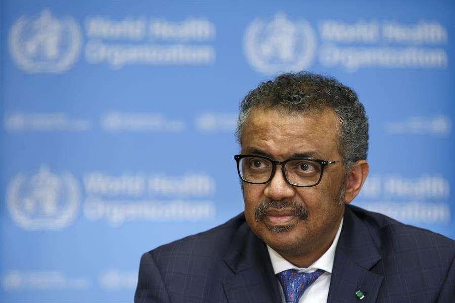 Director general de la Organización Mundial de la Salud (OMS), Tedros Adhanom Ghebreyesus. EFE