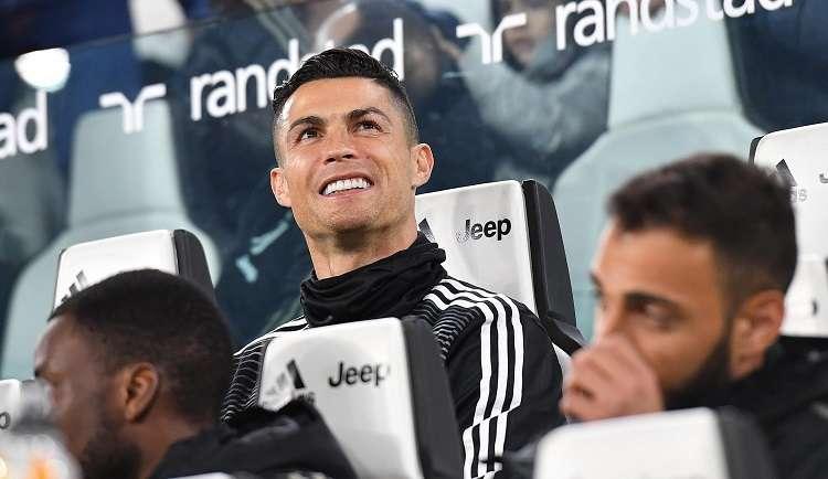 Cristiano Ronaldo, jugador de la Juventus.