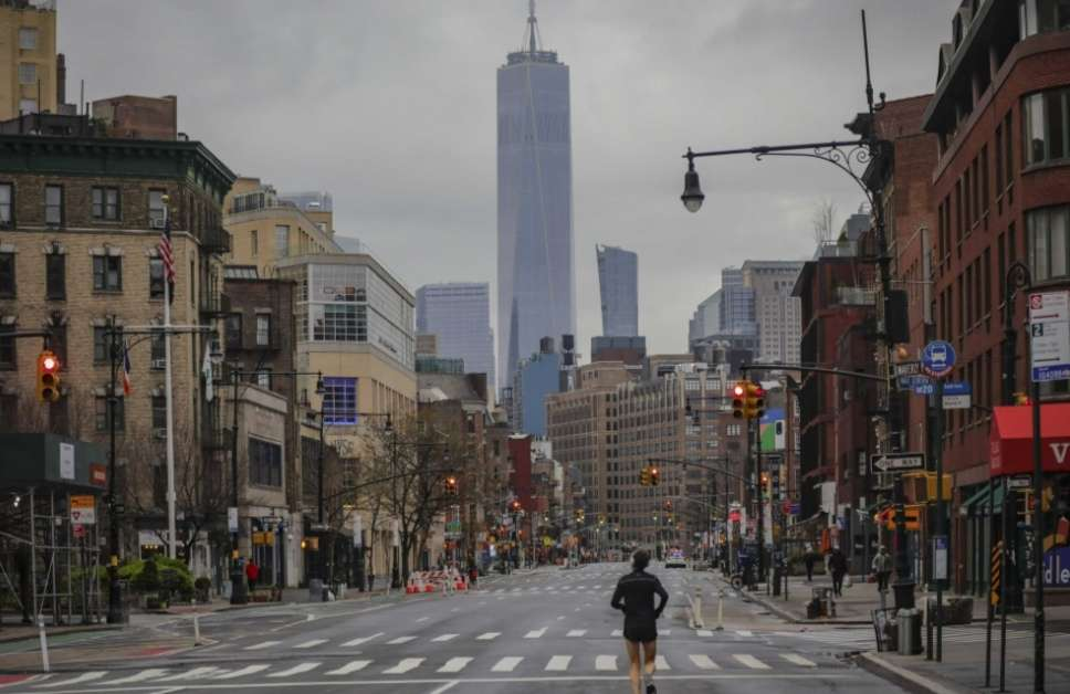 Las calles del mundo están desoladas. / AP