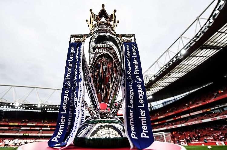 Trofeo de la Premier League. Foto: EFE
