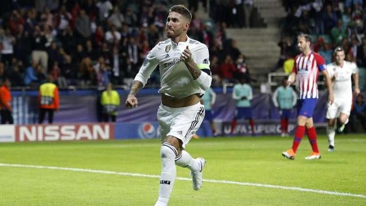 Sergio Ramos, capitán del Real Madrid. Foto: EFE
