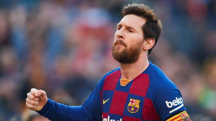 Lionel Messi, estrella del Barcelona.