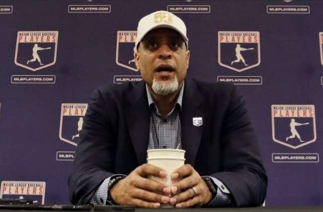 Tony Clark, presidente de la Asociación de Peloteros de las Grandes Ligas.