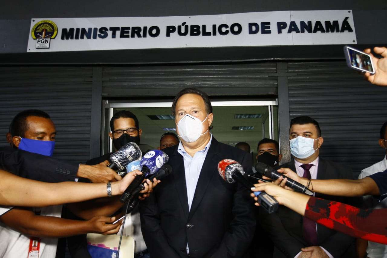 Varela en la Fiscalia Anticorrupcion. Foto:  Edwards Santos