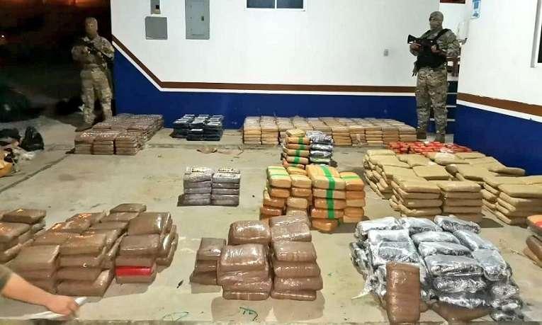 La droga se encontraba a bordo de un bote rápido al sur de Punta Burica.