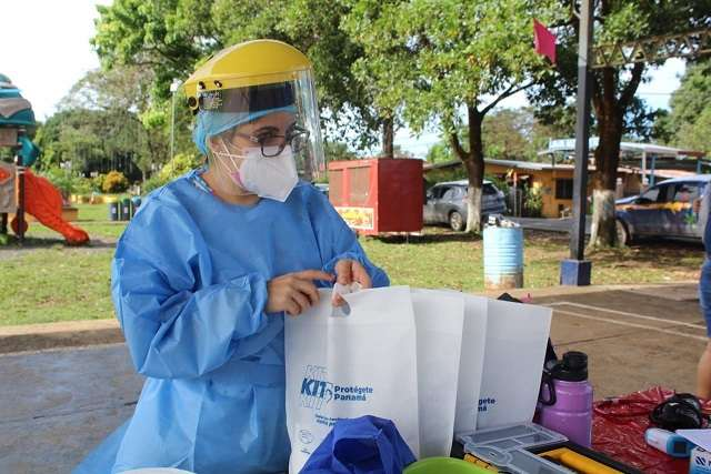 Informe epidemiológico del COVID-19 en Panamá.