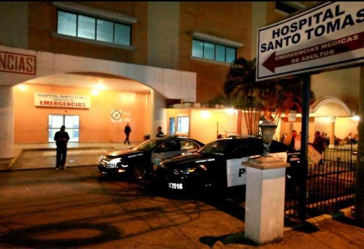 Cuarto de urgencias del Hospital Santo Tomás.