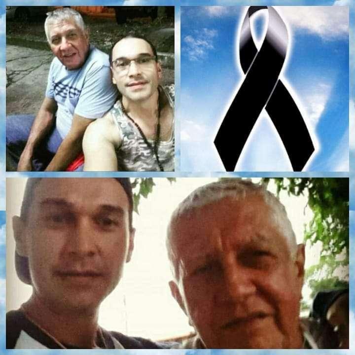Fotografía en vida de el padre e hijo asesinados en Concepción Juan Díaz