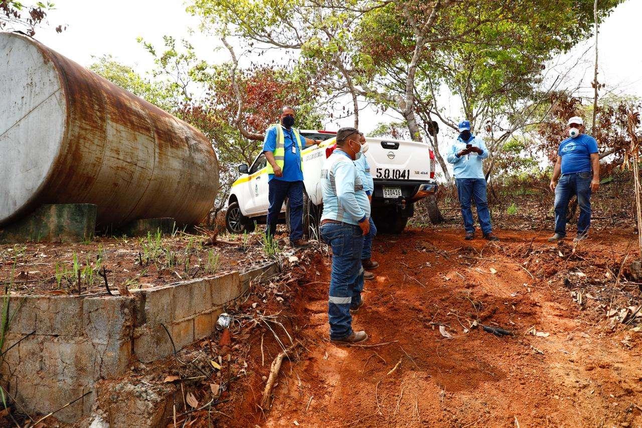 El desabastecimiento de agua es en parte a causa de tanques de reserva fuera de uso y mantenimiento