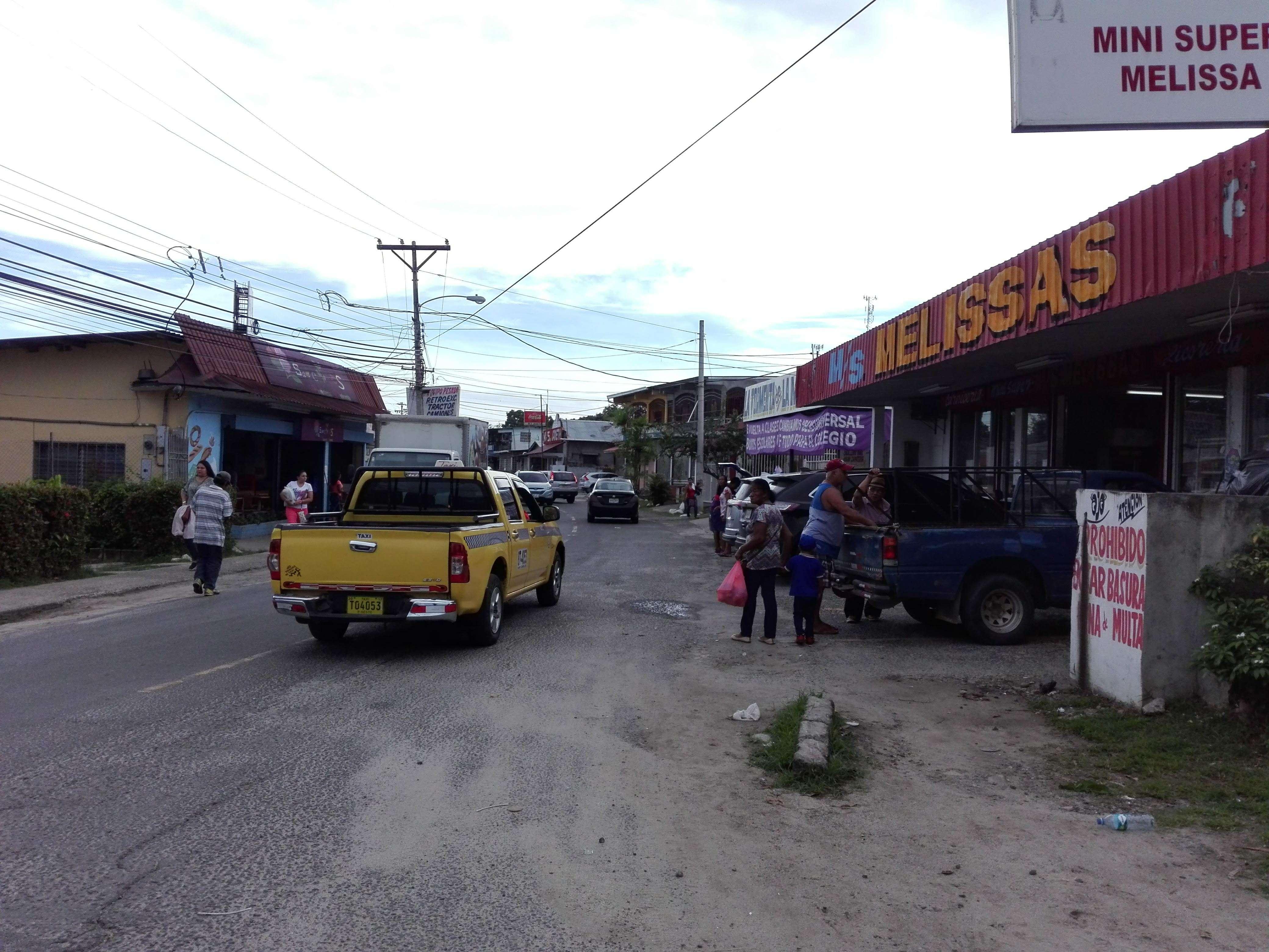 Sector comercial en San Carlos. Foto: Eric Ariel Montenegro