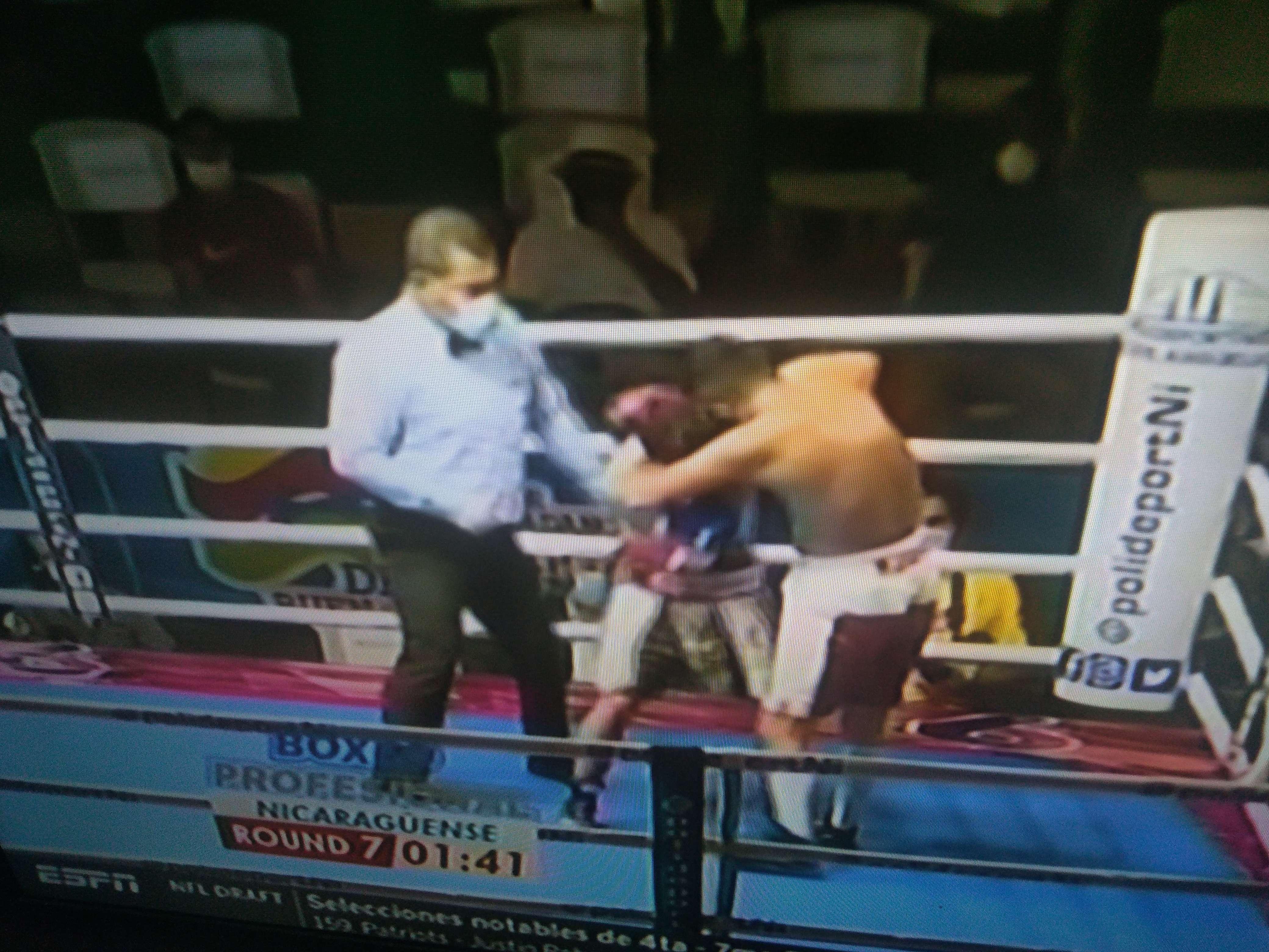 El pasado sábado ya se efectuó una función de boxeo en la ciudad de Managua.