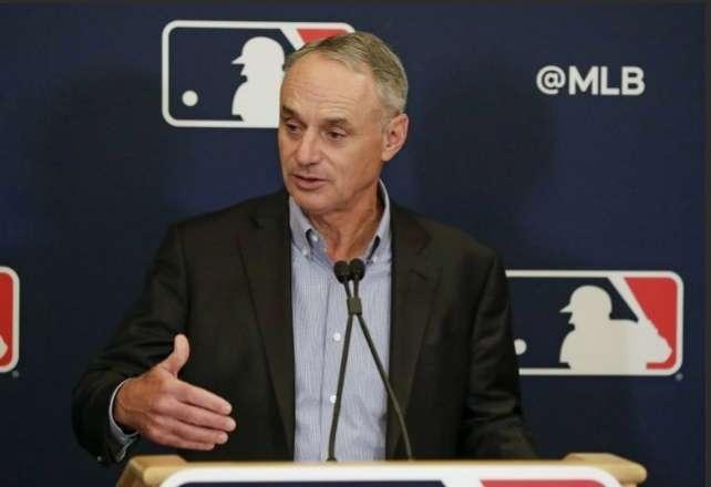 Rob Manfred, comisionado de las Grandes Ligas.
