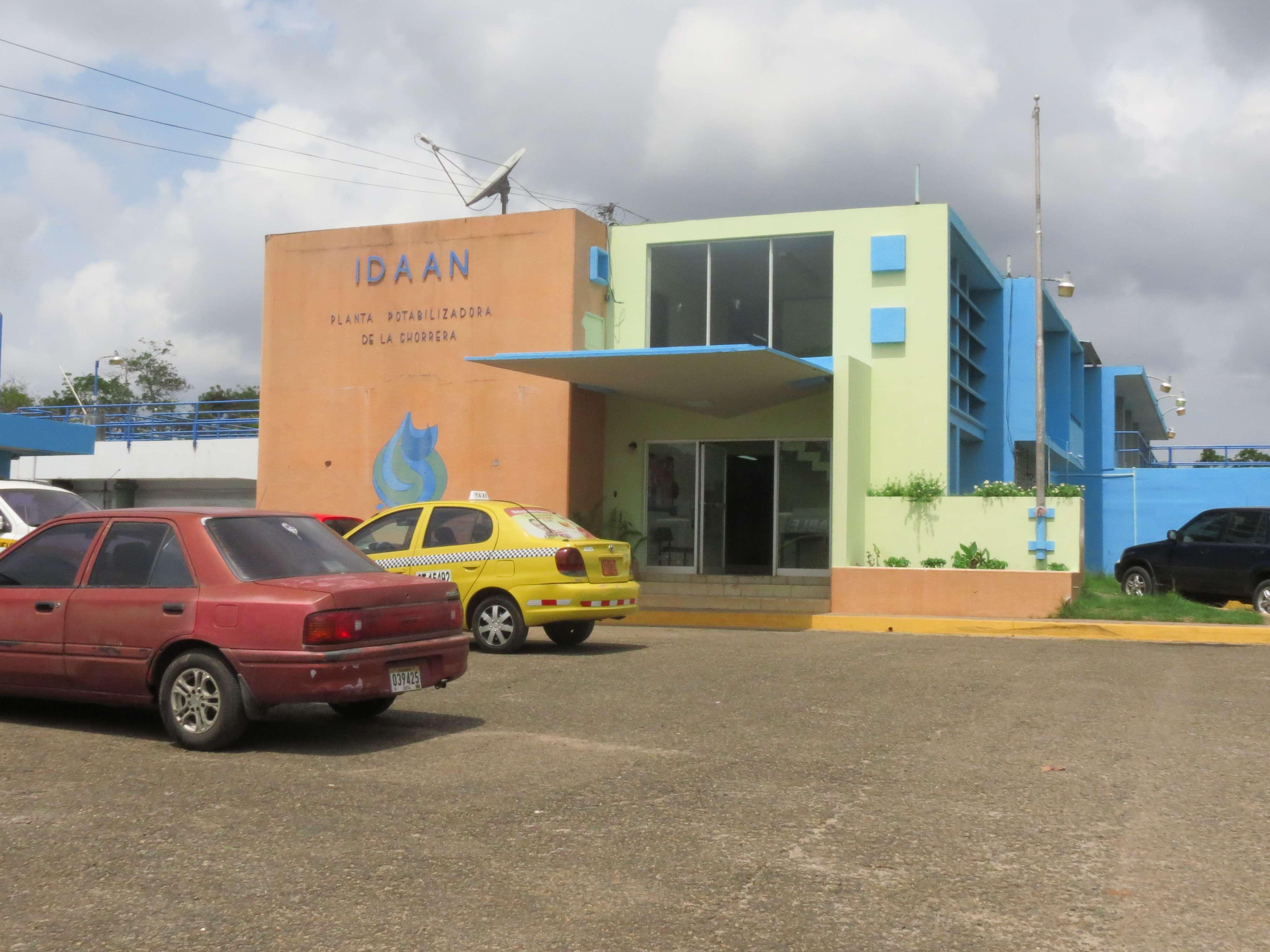 Potabilizadora de El Trapichito en La Chorrera.