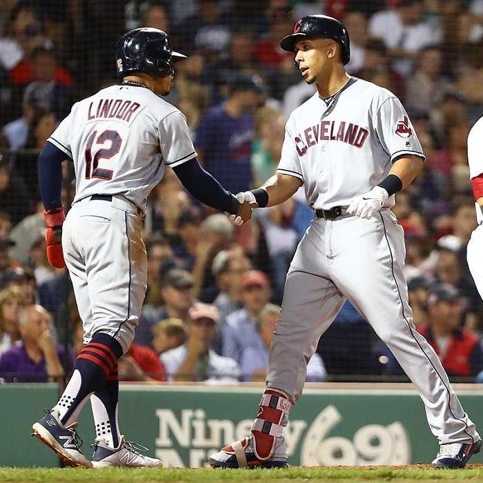 Indios de Cleveland vencieron a domicilio a los Medias Rojas de Boston, que tienen la mejor marca de las Mayores./@MLB