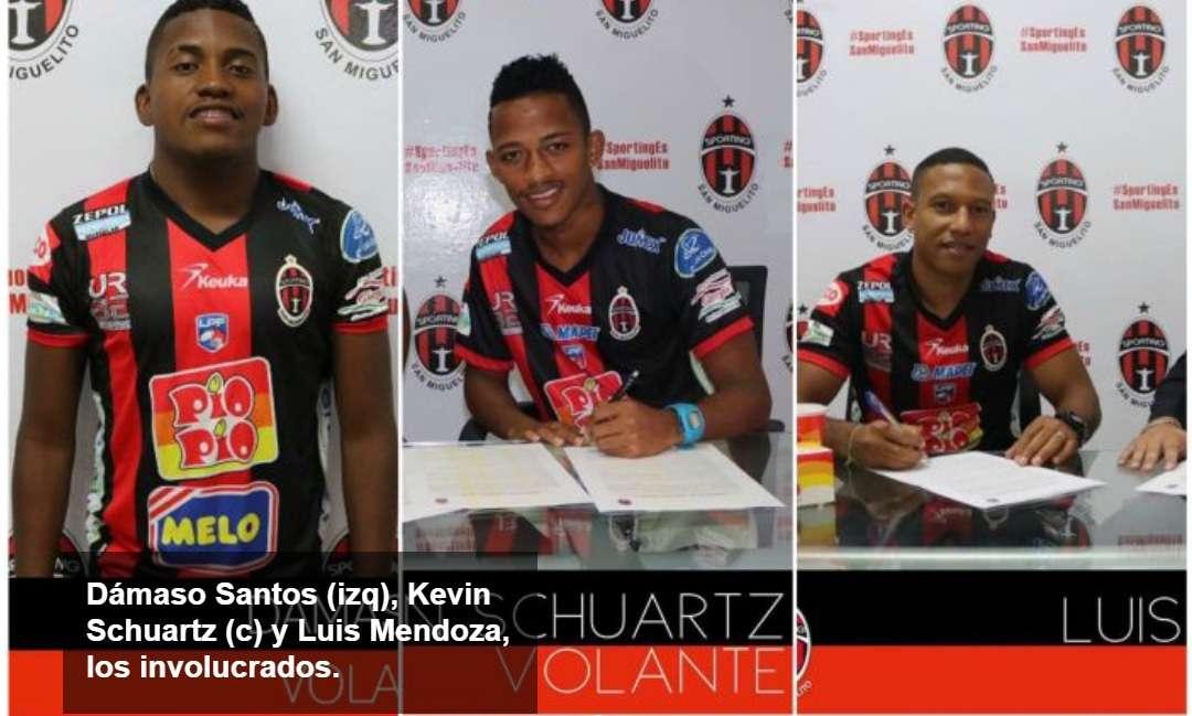 Tres futbolistas del Sporting están vinculados al secuestro.