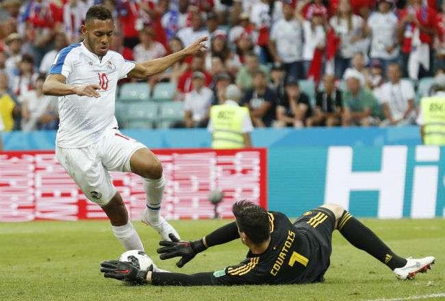El jugador panameño Ismael Díaz. Foto: AP