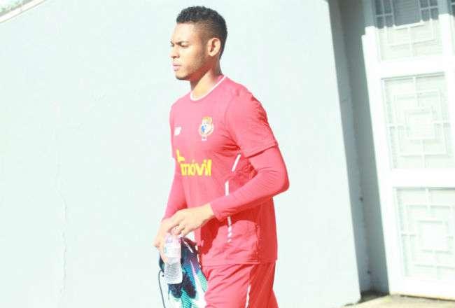 El jugador panameño Ismael Díaz. Foto: Anayansi Gamez