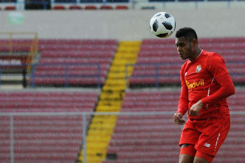Ismael Díaz, de 21 años, es uno de los atacantes de la selección de Panamá. Foto EFE