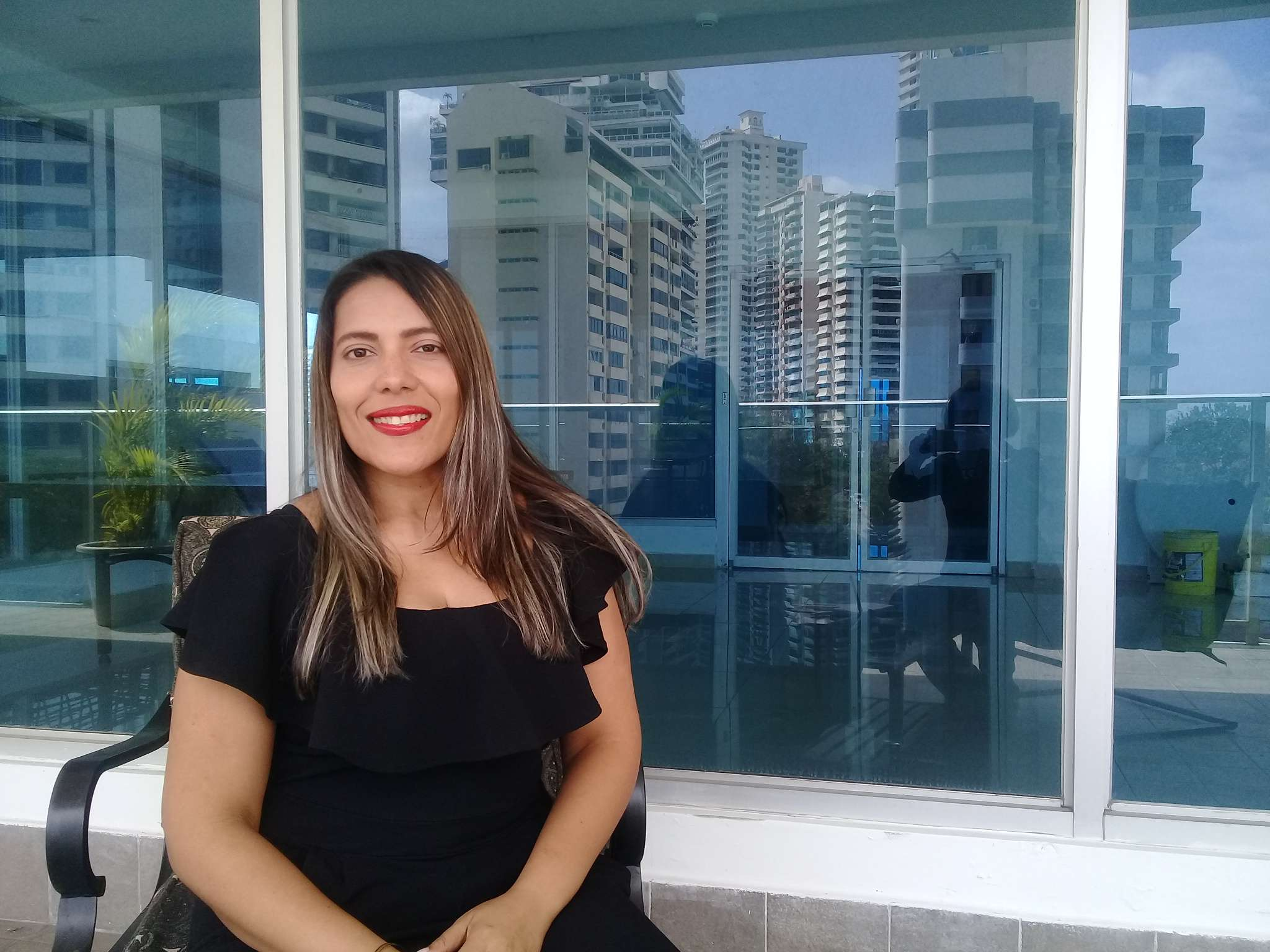 Issa Farides Espino, Sexóloga. Foto: Rocío Martins