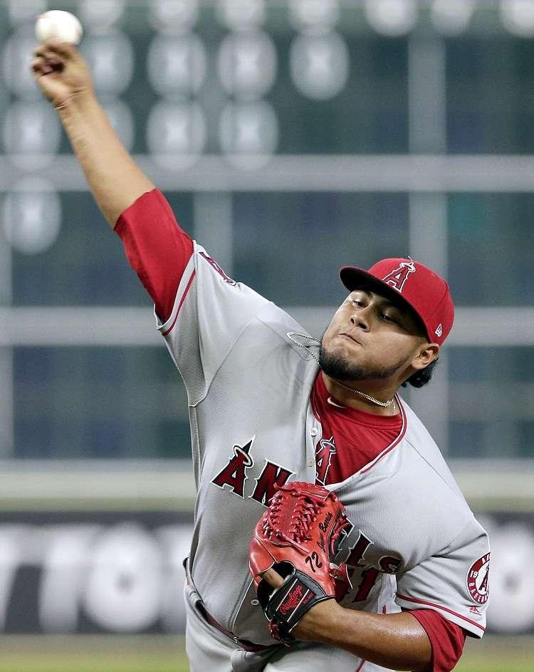 Jaime Barría tuvo otra gran salida el viernes ante los Astros de Houston. Foto: AP