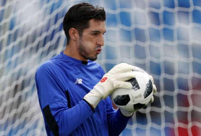 Jaime Penedo permitió 11 goles en el Mundial de Rusia 2018. Foto: EFE