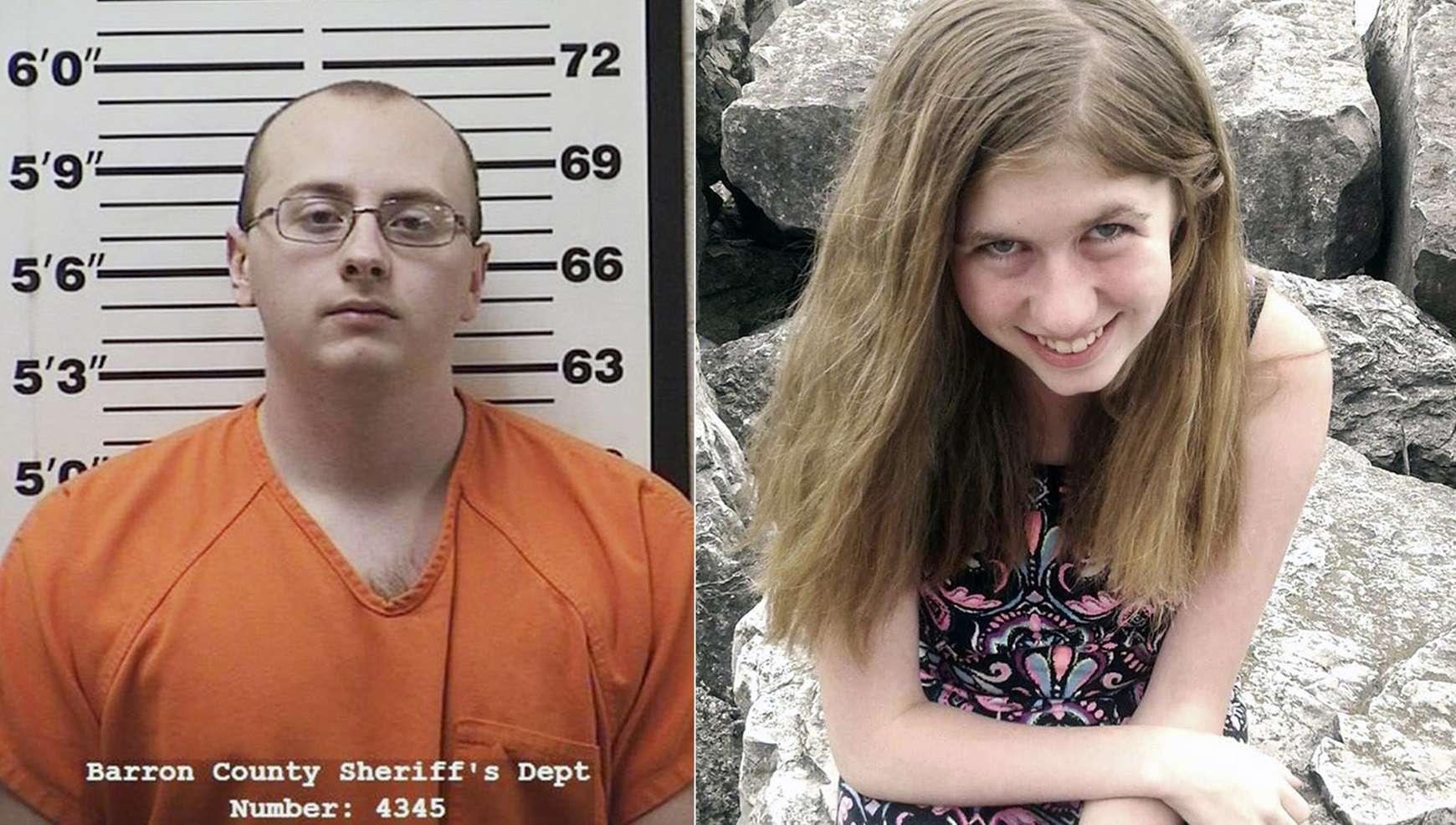 Fotocombinación: Jake Thomas Patterson (izq) y Jayme Closs (der). AP