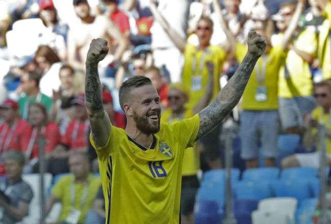 El sueco Pontus Jansson es uno de los afectados. Foto: AP