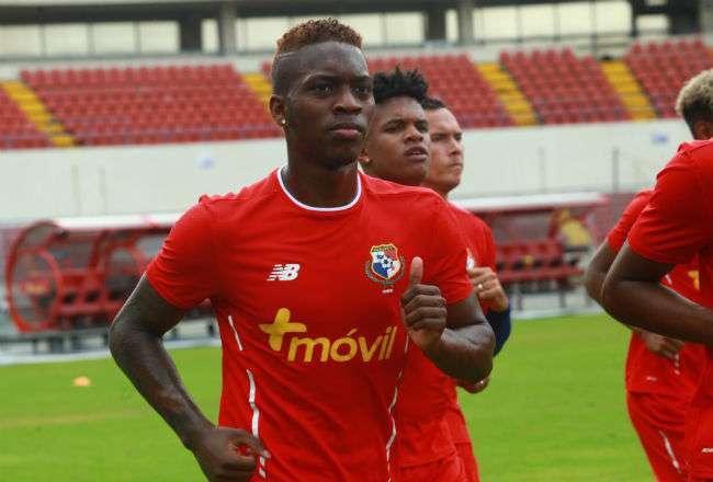 El jugador panameño José Luis Rodríguez. Foto: EFE