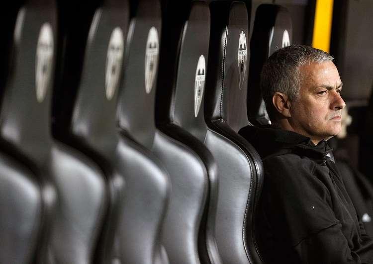 El exentrenador del Real Madrid Jose Mourinho, que ha ratificado este martes en el juicio el acuerdo de conformidad con la Fiscalía de Madrid. Foto:EFE