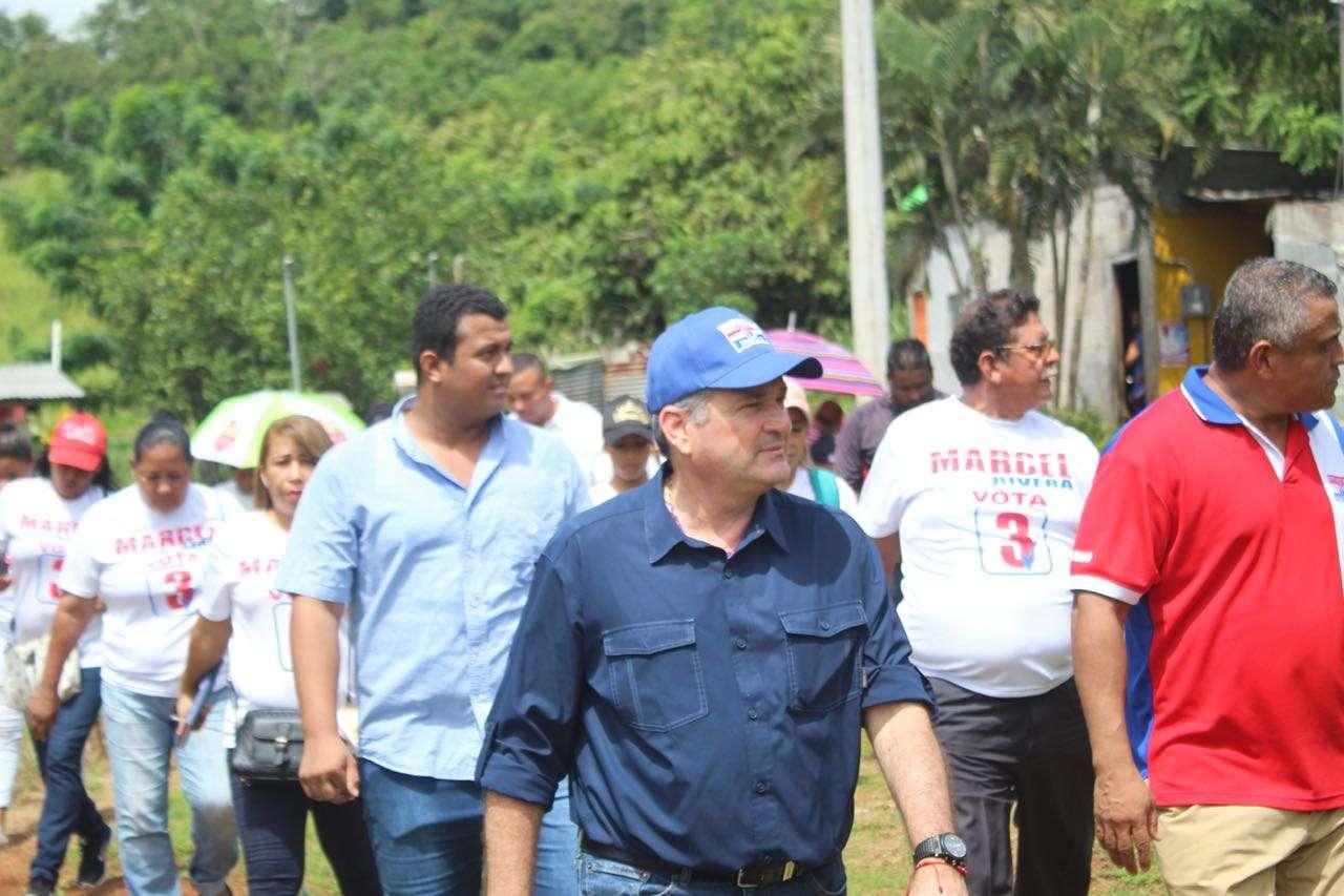Juan Carlos Navarro promete reactivar la economía, seguridad en los barrios y atender los problemas de los panameños.