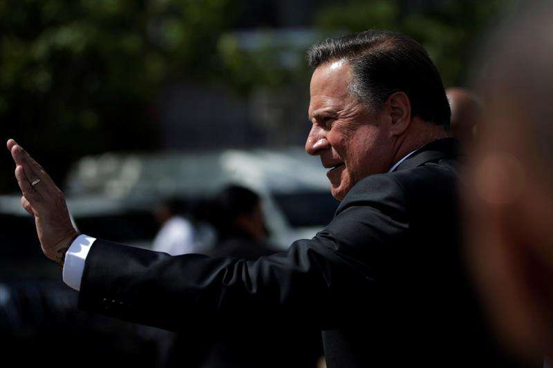 En la imagen, el presidente de Panamá Juan Carlos Varela. EFE/Archivo