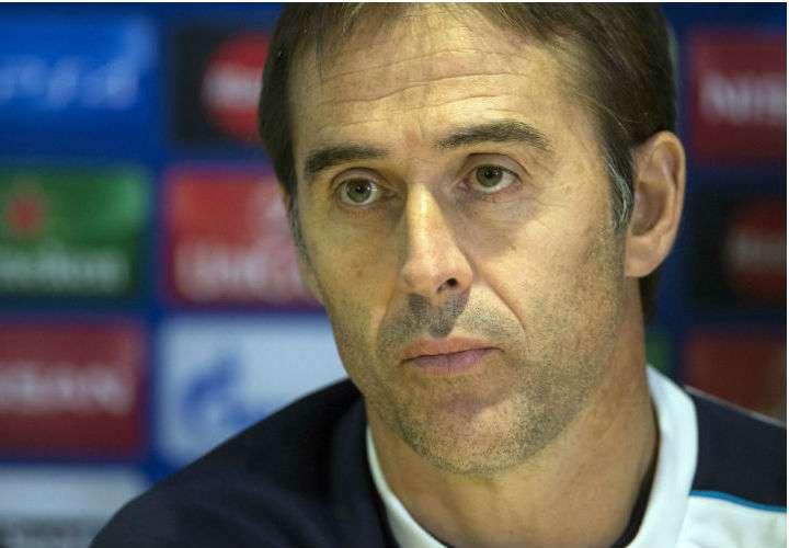 Julen Lopetegui es el director de la selección española que jugará en el Mundial de Rusia 2018. Foto EFE