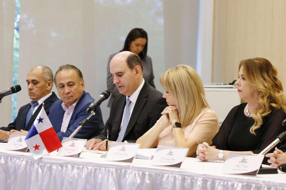 La Junta Nacional de Escrutinio 2019.