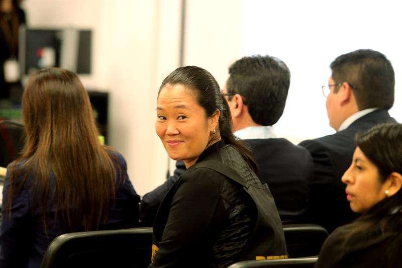 La líder opositora peruana Keiko Fujimori. EFEArchivo