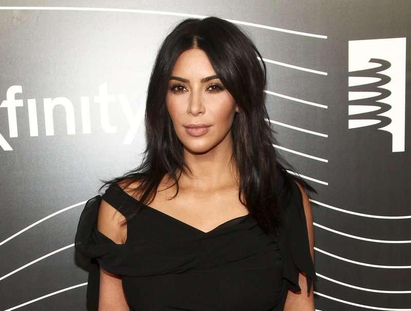 En la imagen Kim Kardashian. AP