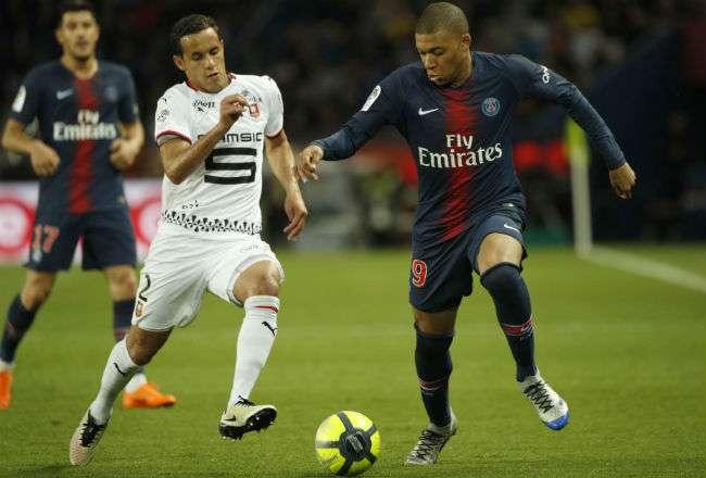El jugador francés Kylian Mbappé. Foto: EFE