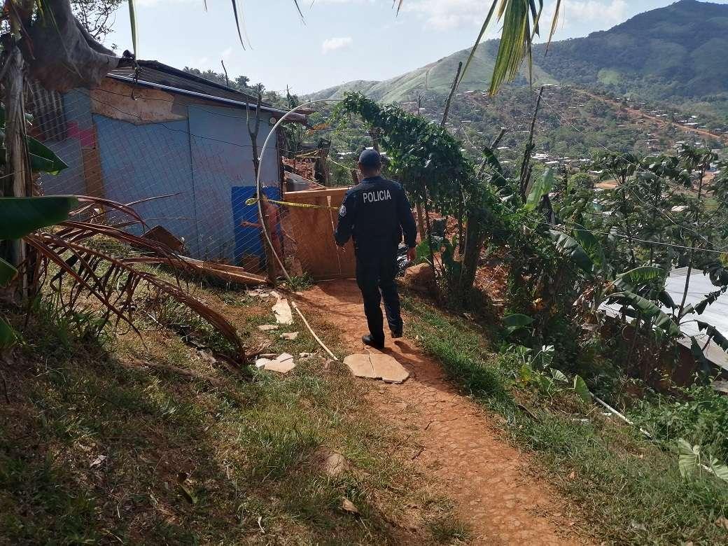 Poblado de las nubes en Arraiján en donde se cometió el triple homicidio. Foto: Eric Montenegro
