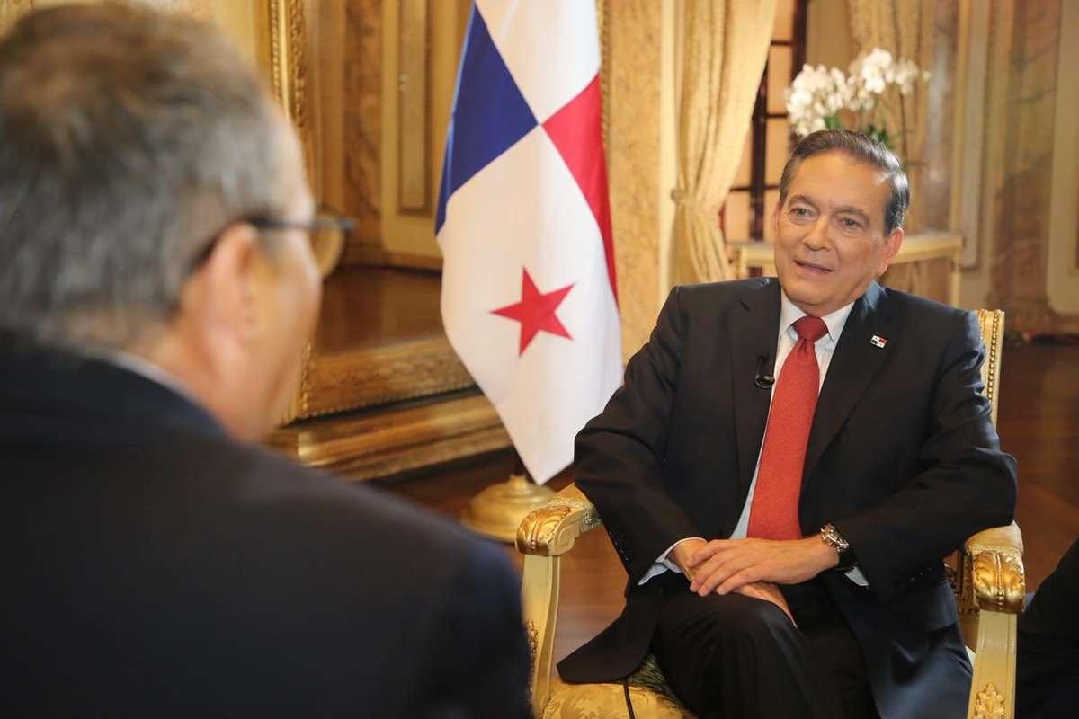 Presidente de Panamá Laurentino Cortizo. Foto: CNN