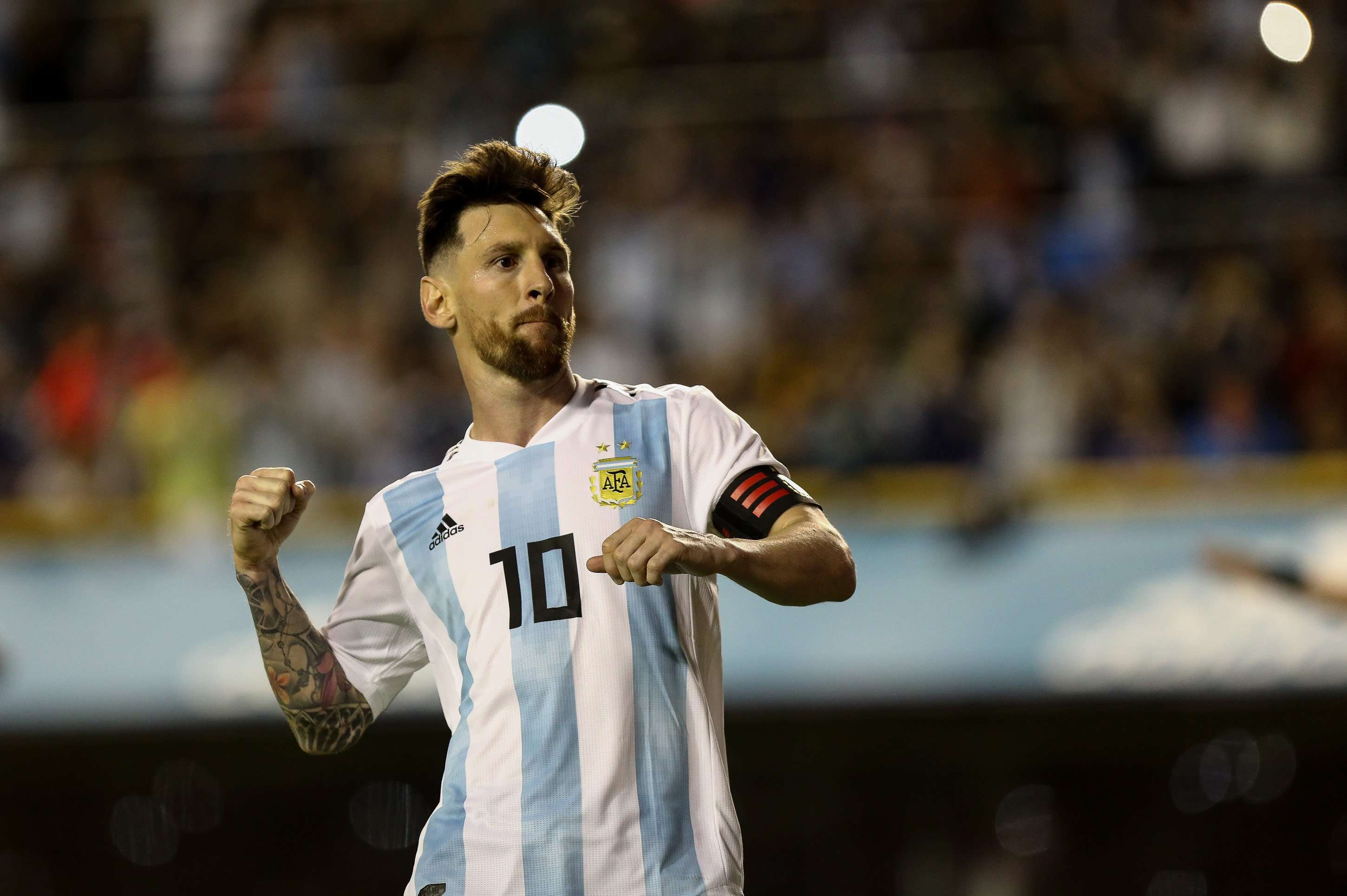 Lionel Messi fue el capitán de Argentina durante el pasado Mundial./EFE