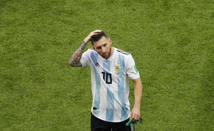 Lionel Messi entró en la convocatori. Foto:EFE