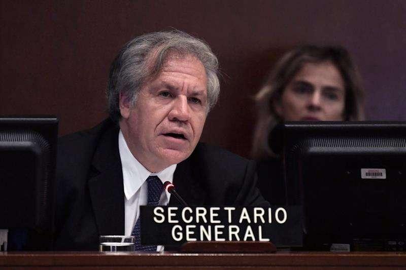 En la imagen, el secretario general de la OEA, Luis Almagro. EFE/Archivo